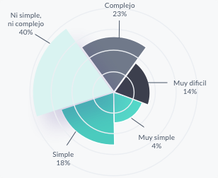 Complejidad del proceso burocrático
