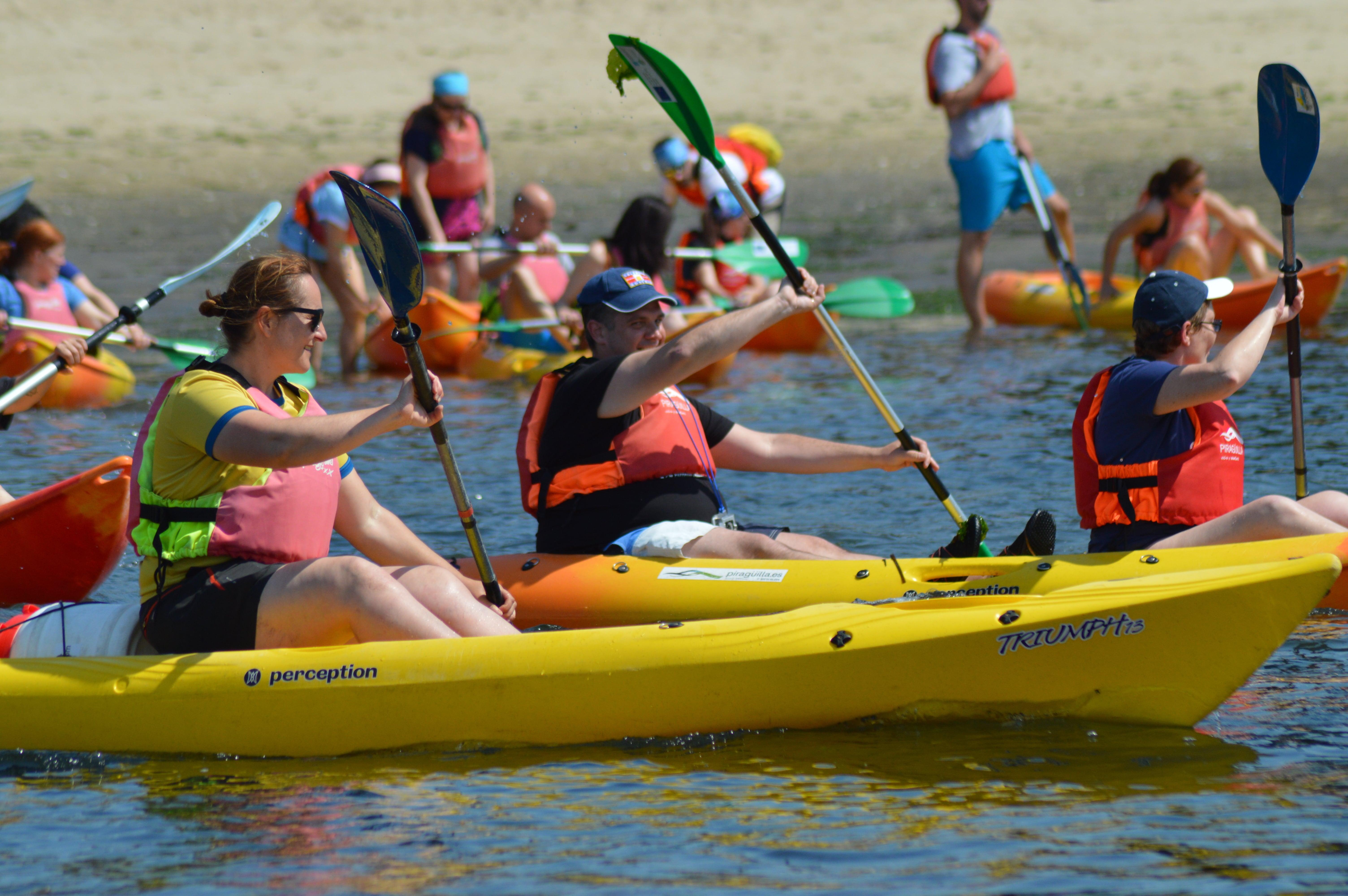 Disfruta de un entorno idílico en kayak - Marta Iglesias Pouso, profesora de kayak y piragüismo en Pontevedra.