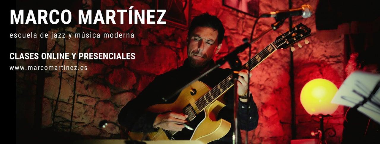 Profundiza en tu amor por la música con clases presenciales u online - Marco Martínez, profesor de música moderna y jazz en Oviedo.