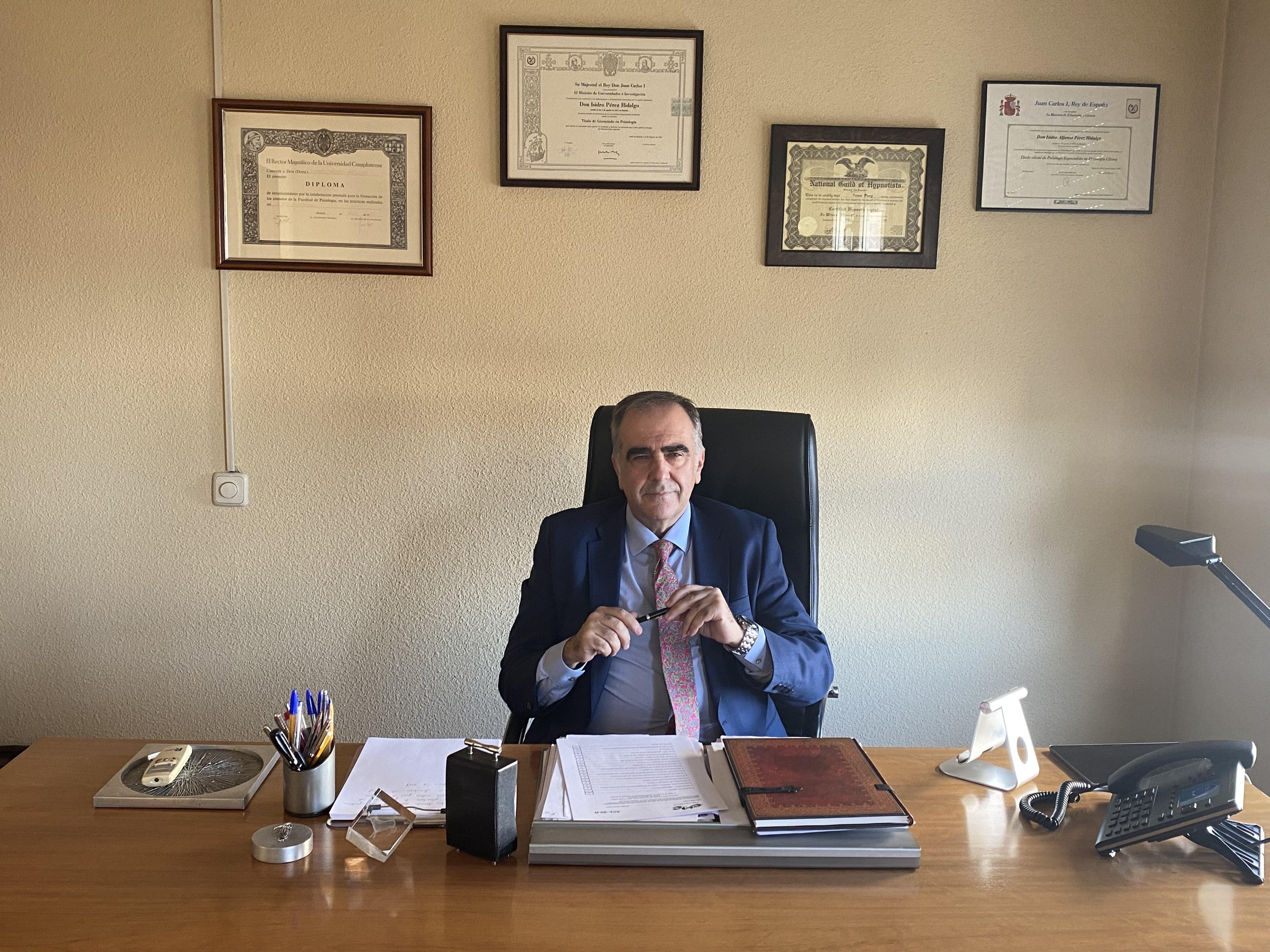 Venciendo el estrés y la ansiedad con las hipnosis clínica - Isidro Pérez Hidalgo – Psicólogo en Madrid