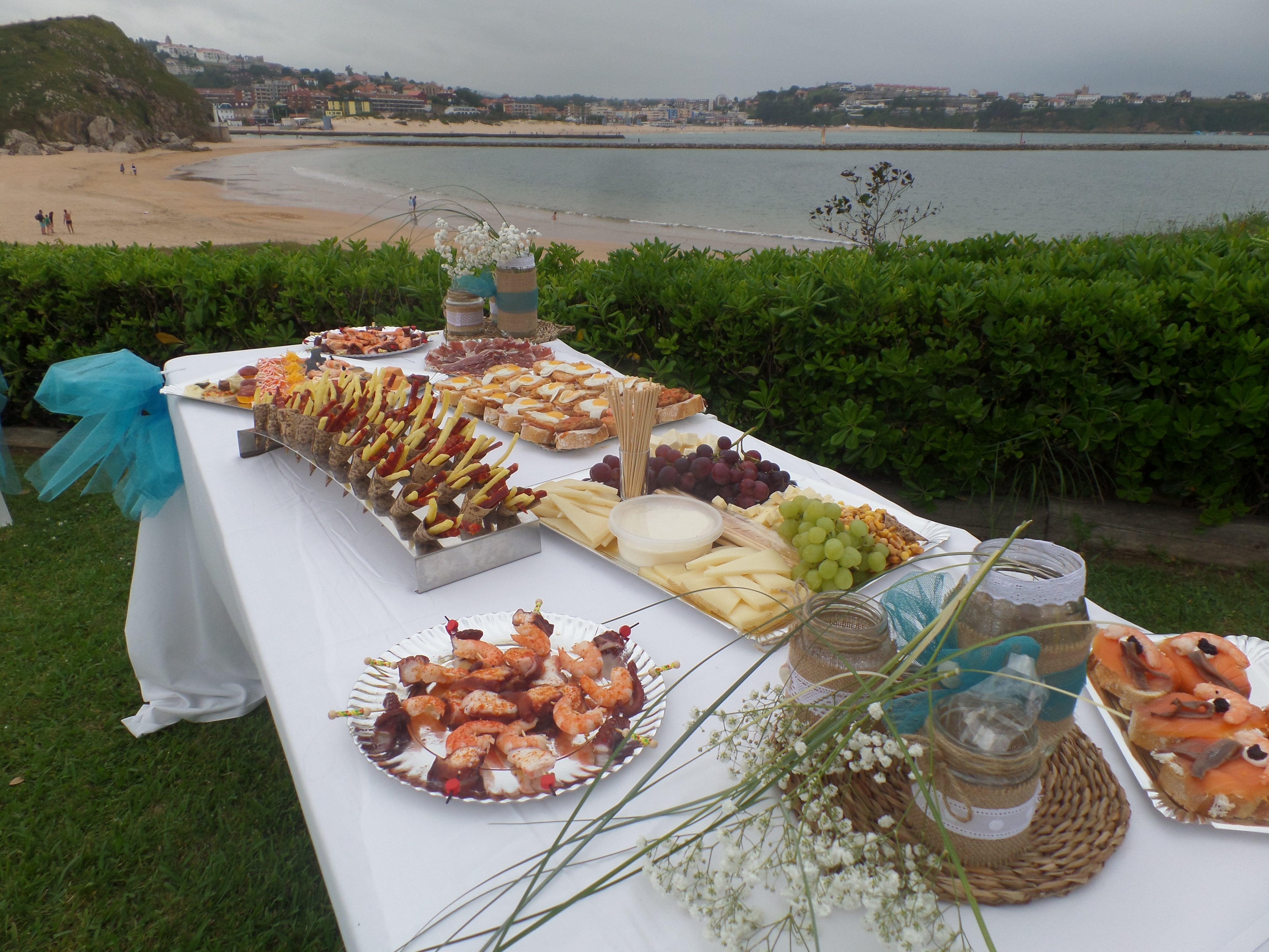 El mejor catering para eventos en Cantabria - Descubre la combinación perfecta para tu catering por Dulce y Salado!