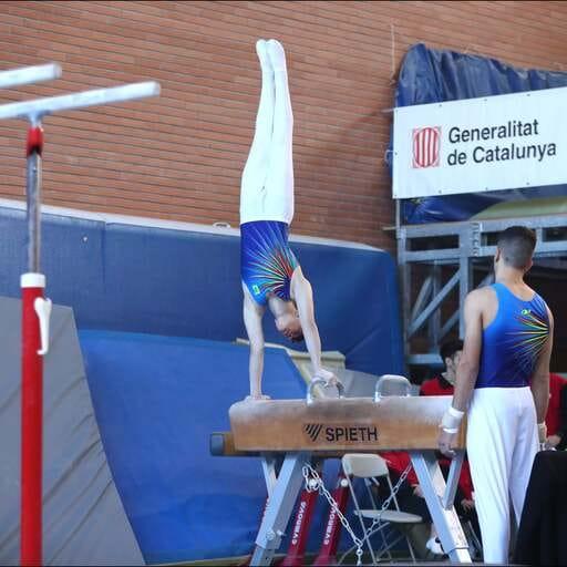 Gimnasia artística de alto nivel como fuente de dedicación y pasión - Sandra Gabaldá Fernández - Instructora de Gimnasia Artística en Barcelona