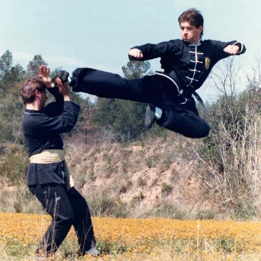 Artes marciales chinas: un camino de serenidad y autodisciplina - Manuel, instructor de kung fu en L'Hospitalet de Llobregat, Barcelona.
