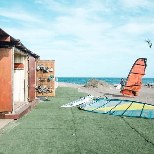 Disfruta del Kitesurf en el paraíso tinerfeño - Celina Gahmig, encargada de escuela de kitesurf en Tenerife.