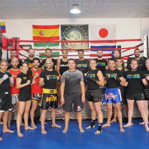 Deportes de Contacto y artes marciales, a tu alcance de la mano de expertos - Juanma Campillo, presidente de DRACO Fight Club, gimnasio en Dos Hermanas, Sevilla.