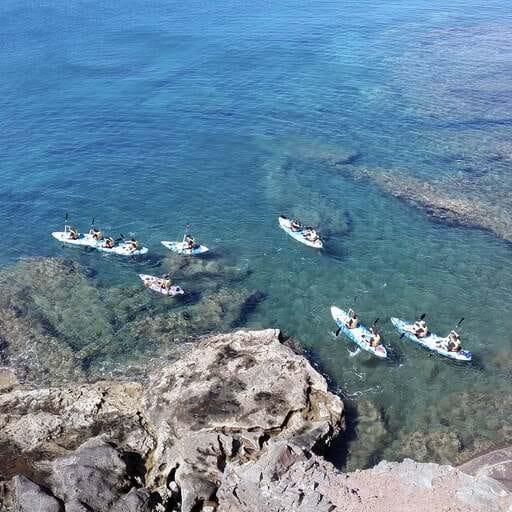 Disfruta del turismo activo en Lanzarote - Ismael Escot, instructor de kayak en Lanzarote.