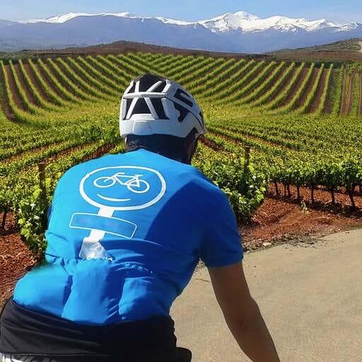 Disfruta La Rioja a pedales - Jota Pérez Echegoyen, especialista en alquiler turístico de bicicletas en La Rioja.