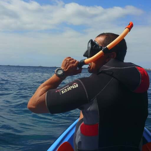 Disfruta del medio marino en las Islas Afortunadas - Kayaking Atlantis - Marcin Glowacki, instructor de kayak y actividades acuáticas de ocio en Tenerife.